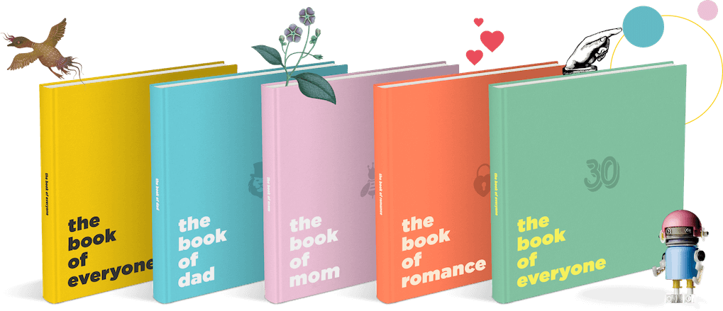 Personalized Books & Original Gifts - The Book of Everyone