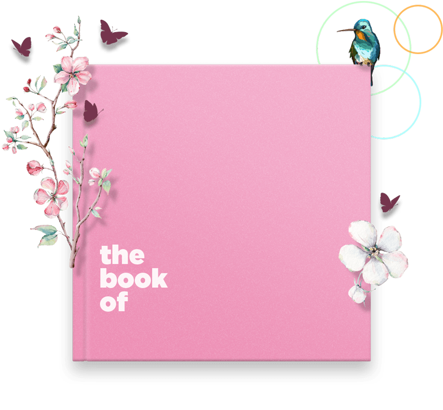 Customizable Personalized Book of Mom Gift Cover