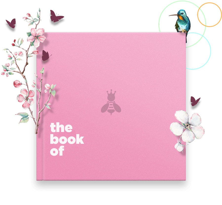 Customisable Personalised Book of Mum Gift Cover