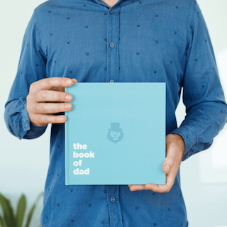 Personalised Book of Dad